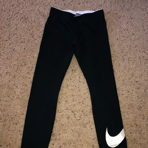 nike xs black legging